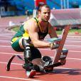 Oscar Pistorius lors des championnats du monde handisport à Christchurch en Nouvelle-Zélande le 25 janvier 2011