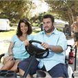 Laurent Ournac et Jennifer Lauret dans Camping Paradis