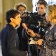 Najat Vallaud-Belkacem a répondu à l'invitation de la fondation K d'urgences qui réunissait de nombreux artistes et personnalités politiques afin de faire 10 propositions au gouvernement pour aider les familles monoparentales. La réunion a eu lieu au Conseil Économique Social et environnemental à Paris le 18 février 2013.