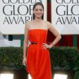 Marion Cotillard durant les Golden Globes 2013
