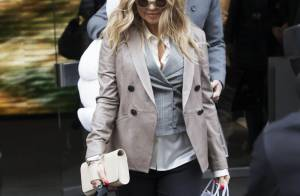 Fergie enceinte : Stylée pour une virée à Milan sans Josh Duhamel