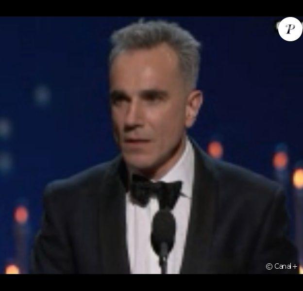 Daniel Day-Lewis, Oscar du meilleur acteur pour Lincoln le 24 février 2013