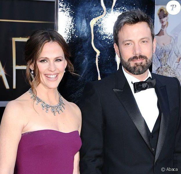 Jennifer Garner et Ben Affleck lors de la 85e cérémonie des Oscars à Los Angeles le 24 février 2013