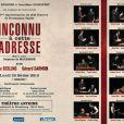 """200e représentation d'""""Inconnu à cette adresse"""" au Théâtre Antoine à Paris, le 25 février 2013."""