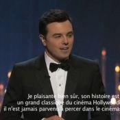 Seth MacFarlane, de retour pour présenter les Oscars 2014 ? 'Hors de question !'
