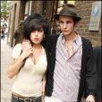 Blake Fielder-Civil et Amy Winehouse, à Covent Garden à Londres, le 24 août 2007.
