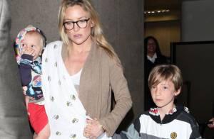 Kate Hudson : Retour de vacances avec ses fils et sans Matthew Bellamy