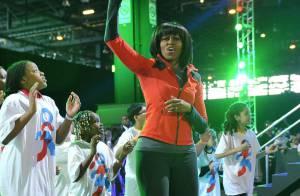 Michelle Obama, glamour et sportive : La fièvre de la danse contre l'obésité