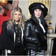 Fergie (enceinte) et Cher - People au defile Balmain pret-a-porter Automne-Hiver 2013/2014 a Paris, le 28 fevrier 2013.  People attending Balmain fashion show ready-to-wear Autumn-Winter 2013/2014 in Paris, France, on February 28th 2013.28/02/2013 - Paris