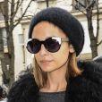 Nicole Richie est de passage à Paris pour la Fashion Week. La voici photographiée arrivant à son hôtel. Paris, le 1er mars 2013.