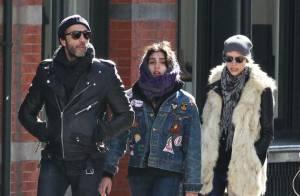 Lourdes : La fille de Madonna en virée shopping avec son père et une inconnue