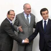 Bernard Le Coq, Thierry Frémont métamorphosés en Chirac et Sarkozy