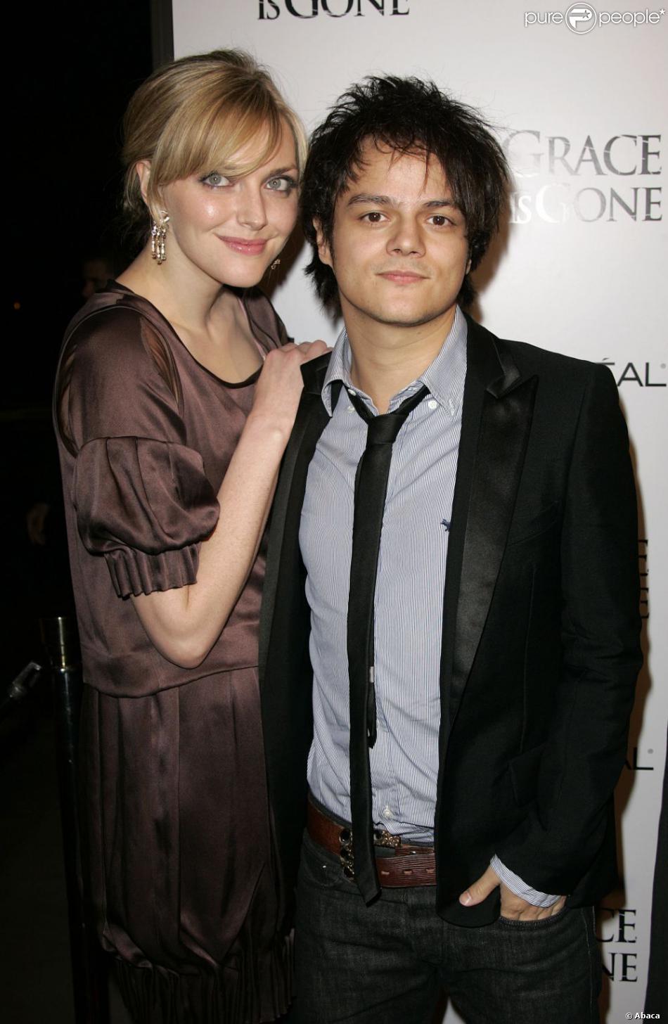Jamie Cullum et Sophie Dahl à Los Angeles, le 28 novembre 2007.