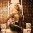La rappeuse Nicki Minaj très dévêtue dans le clip de Freaks du rappeur French Montana.