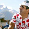Laurent Jalabert aux Deux Alpes le 24 juillet 2002 sur le Tour de France