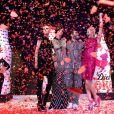 Marc Jacobs a célébré comme il se doit le lancement de ses bouteilles de Diet Coke à Londres, le 11 mars 2013, au côté de mannequins les plus en vue du moment Ginta Lapina, Eliza Cummings et Lily McMenamy.
