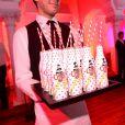 Marc Jacobs a lancé en grande pompe ses bouteilles de Diet Coke imaginées par ses soins à Londres, le 11 mars 2013.
