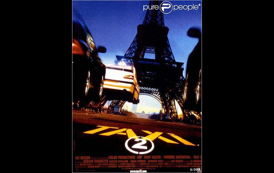 affiche du film taxi 2. Black Bedroom Furniture Sets. Home Design Ideas