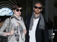 Anne Hathaway : Retour à LA avec son mari, son ex attire des ennuis à Zach Braff