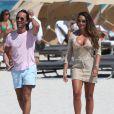 Tamara Ecclestone et son fiancé Jay Rutland profitent du soleil de Miami ce jeudi 14 mars 2013 en ne faisant rien.