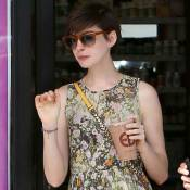Anne Hathaway : Radieuse, elle profite d'une journée tranquille avec son mari