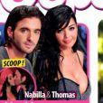 Thomas et Nabilla en couverture de Oops!