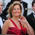 Sophie de Wessex le 28 avril 2011, à la veille du mariage du prince William et de Kate Middleton