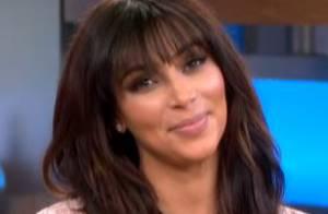Kim Kardashian : Une actrice enceinte, très en beauté et un brin philosophe