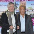 Tom Courtenay et Dustin Hoffman lors de l'avant-première du film Quartet à l'UGC des Halles à Paris, le 26 mars 2013.