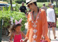 Halle Berry : Chasse aux oeufs avec Nahla avant de s'envoler pour L.A.