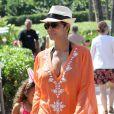 Halle Berry et sa fille Nahla sont parties à la chasse aux oeufs à Maui, lors de leur séjour sur l'île d'Hawaï pendant le week-end de Pâques. Le 31 mars 2013.