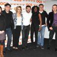Sandrine Le Berre, Philippe Vieux, Alysson Paradis, Sebastian Barrio, Alain Dion lors de l'avant-première de la saison 2 de  Q.I.  au Forum des Images aux Halles à Paris le 4 avril 2013.