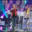 Bernard Minet sur le plateau de l'émission  Les années bonheur , diffusée le 26 mars 2011 sur France 2.