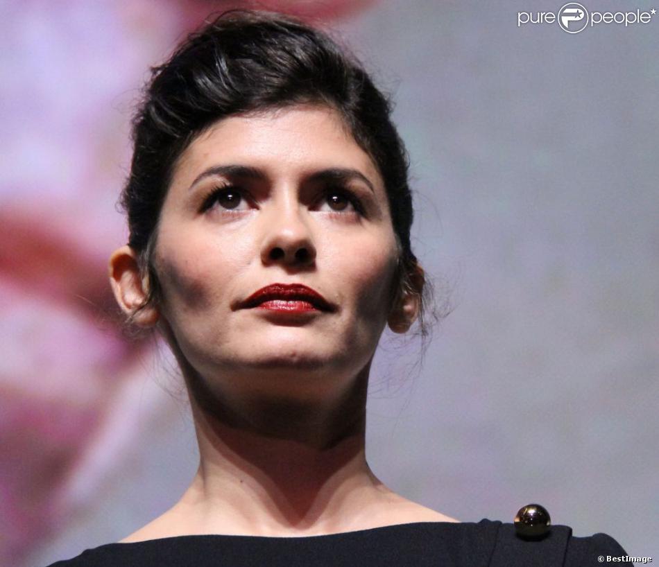 Audrey Tautou, ici à la présentation de Thérèse Desqueyroux au TIFFF 2012, sera maîtresse de cérémonie du Festival de Cannes 2013.