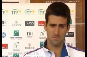 Novak Djokovic : Les larmes du Joker après une terrible frayeur