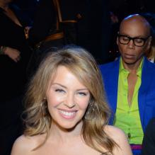 Kylie Minogue et Ru Paul lors des NewNowNext awards, le 13 avril 2013 à Los Angeles.
