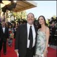 Harvey Weinstein et Georgina Chapman lors de la clôture du Festival de Cannes le 24 mai 2009