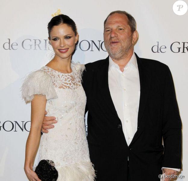 Harvey Weinstein et Georgina Chapman à Cannes en mai 2011
