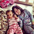 Josh Kelly, le mari de Katherine Heigl a posté des photos intimes de leur deux filles Naleigh et Adalaide, sur son profil Instagram en avril 2013.