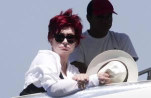 Sharon Osbourne : Boudeuse au soleil avec sa fille quand son mariage prend l'eau