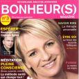 Sophie Davant en couverture de Bonheur(s)