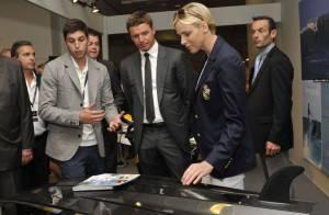 Charlene de Monaco entraîne son frère Gareth au marché des millionnaires