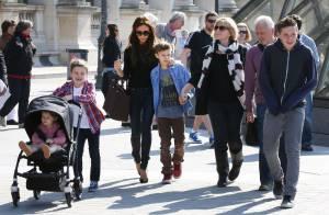 Victoria Beckham : Visite du Louvre et shopping sur les Champs avec les enfants