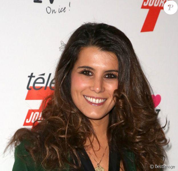 Karine Ferri en décembre 2012 à la soirée télé au Grand Palais à Paris