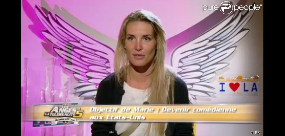 Marie dans les Anges de la télé-réalité 5, lundi 22 avril 2013 sur NRJ12