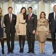 Photo des fiançailles du prince Félix de Luxembourg et de Melle Claire Lademacher, en décembre 2012 au château de Berg. Ils célébreront leur mariage religieux le 17 septembre 2013 en Allemagne et leur mariage religieux le 21 septembre en France, dans le Var.