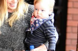 Hilary Duff : Crèche, fête anniversaire, shopping, sa folle semaine avec Luca
