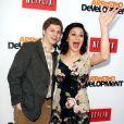 Michael Cera et Alia Shawkat à la soirée de présentation par le site Netflix de la saison 4 de Arrested Development à Hollywood, le 29 avril 2013.