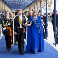 Prestation de serment du roi Willem-Alexander des Pays-Bas, le 30 avril 2013 à Amsterdam.