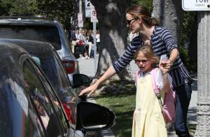 Jennifer Garner : Petit moment de solitude pour la mère de famille débordée